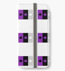 ASEXUAL FLAG ASEXUAL ACE OF SPADES ASEXUAL T-SHIRT iPhone Wallet/Case/Skin