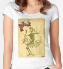 Day Of The Dead Dancer Cinco De Mayo Women's Fitted Scoop T-Shirt