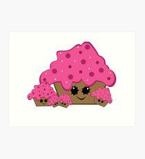Mama Cupcake  Art Print