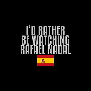 I'd rather be watching Rafael Nadal by mapreduce