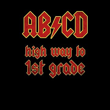 AB/CD High Way to 1st Grade by hadicazvysavaca