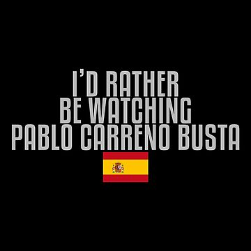 I'd rather be watching Pablo Carreno Busta by mapreduce