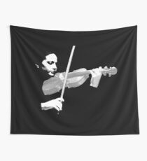 The Violin Wall Tapestry
