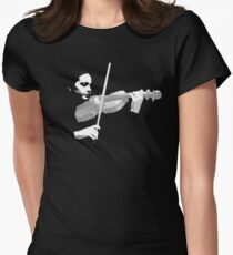 The Violin Women's Fitted T-Shirt