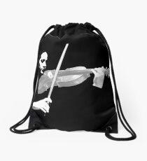 The Violin Drawstring Bag