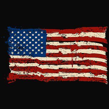 America flag by anoym123