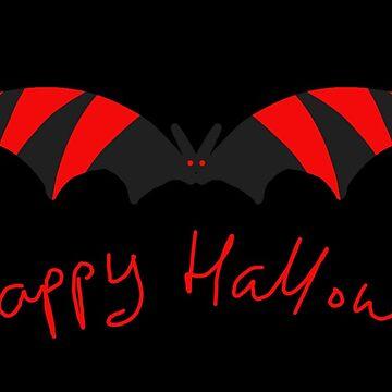 Happy Halloween Brilliant Bat by MoMoJaJa
