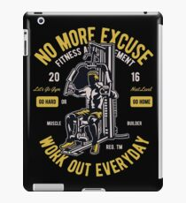 Work Out Everyday iPad Case/Skin