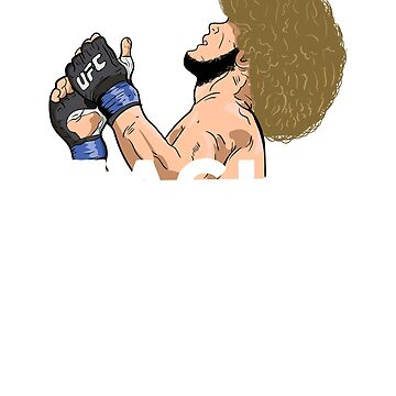 _khabib-Nurmagomedov-The-Eagle-Russian-Ufc-Fighter_ by aubgundo