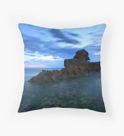 Ghost Ship Throw Pillow
