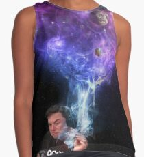 elon musk smoking Sleeveless Top