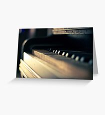The piano #1 Greeting Card