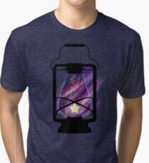 Single Star Lantern Tri-blend T-Shirt