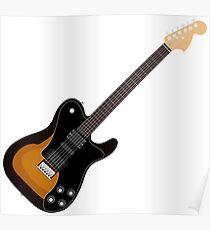 Trohman-Gitarre Poster
