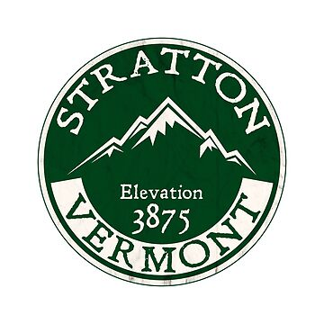 SKIING STRATTON MOUNTAIN VERMONT SKI SNOWBOARDING MOUNTAIN LONDONDERRY by MyHandmadeSigns