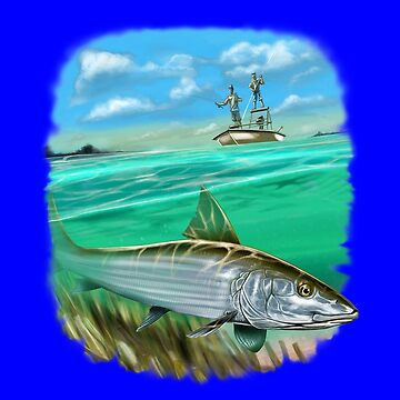 Full Image Bonefish Fishermen Fishing by fantasticdesign