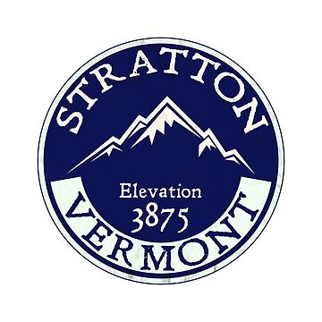 Stratton Vermont Skiing Mountains Ski Snowboarding Winter Sports Londonderry by MyHandmadeSigns