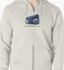 At The Drive-In Zipped Hoodie