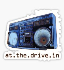 At The Drive-In Sticker