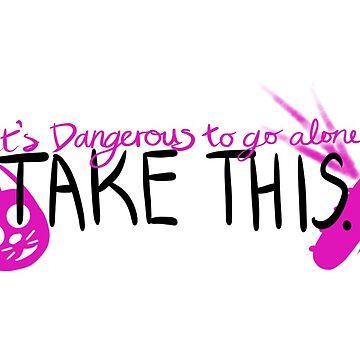 It's Dangerous to Go Alone by brethegoat