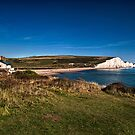 View From Coastguards Cottages by Dave Godden