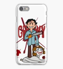 """Groovy"" - Evil Dead print iPhone Case/Skin"
