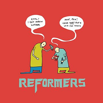 Reformers (The Martin Luther Action Figures) by thejoyofseex