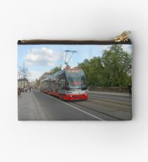 Tramway in Prague Studio Pouch