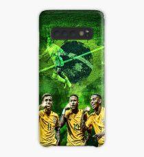 Brasilien: Coutinho, Neymar & Jesus Hülle & Klebefolie für Samsung Galaxy