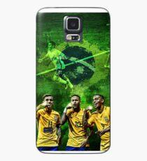 Brazil: Coutinho, Neymar & Jesus Case/Skin for Samsung Galaxy