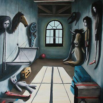 Attic room by HANDraw