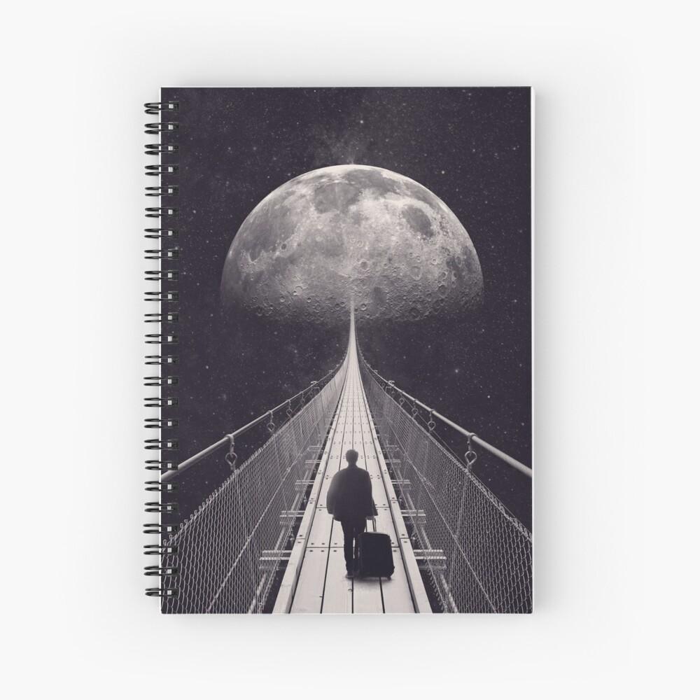 Space Trip Spiral Notebook