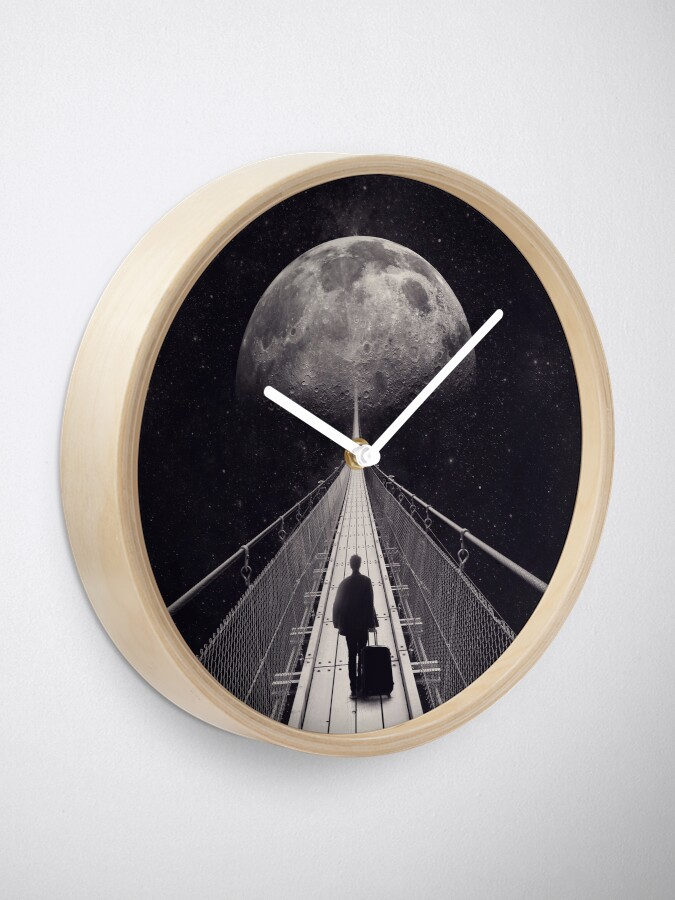 Alternate view of Space Trip Clock