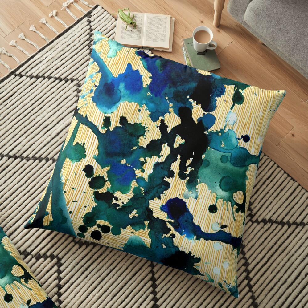 Beauty of Chaos II Floor Pillow