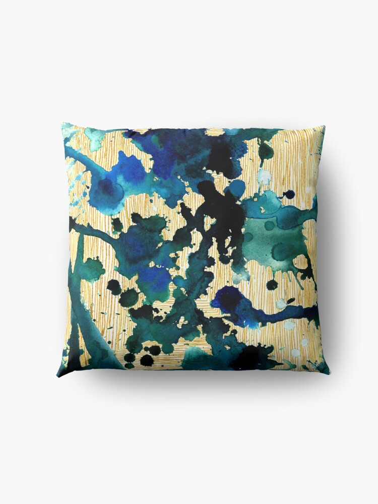 Alternate view of Beauty of Chaos II Floor Pillow