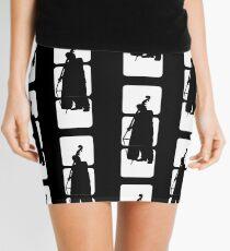 Double Bass Double Bass Jazz Musician Mini Skirt