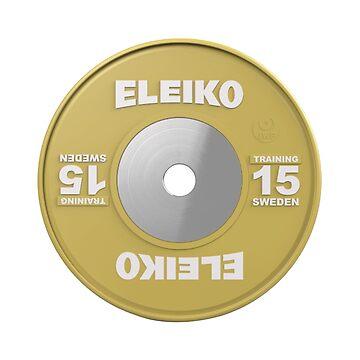 Weightlifting 15kg Plate by hadicazvysavaca