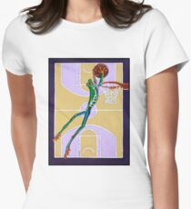 Slam Dunk Womens Fitted T-Shirt