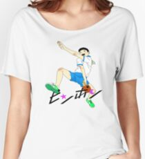 Ping Pong The Animation Print Peco Women's Relaxed Fit T-Shirt