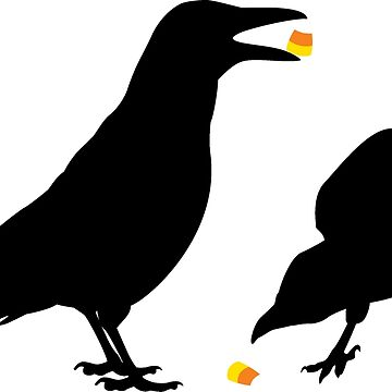 Candy Corn Crows by NestToNest