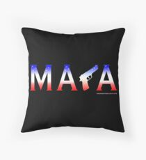 MAGA Throw Pillow