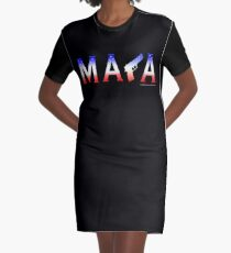 MAGA Graphic T-Shirt Dress