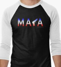 MAGA Men's Baseball ¾ T-Shirt