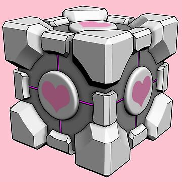 Portal, Weighted Companion Cube by RFive