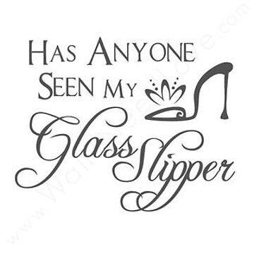 Has anyone seen my glass slipper by mamachristmas1
