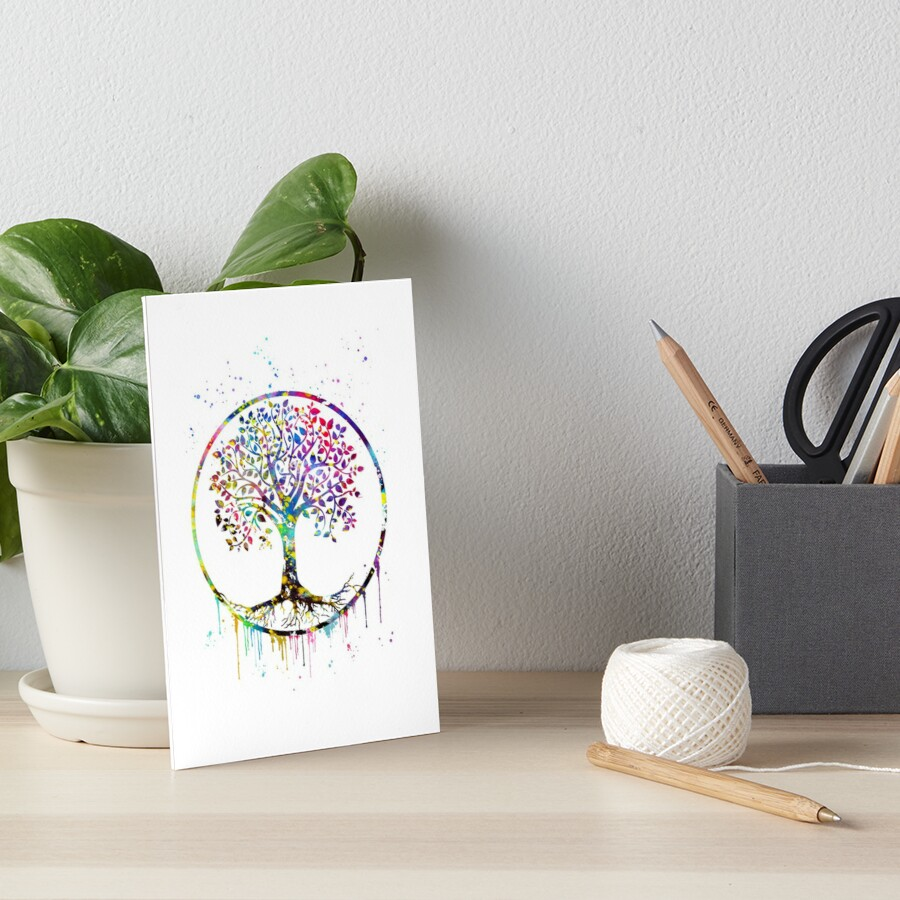 Tree of Life Art Board Print