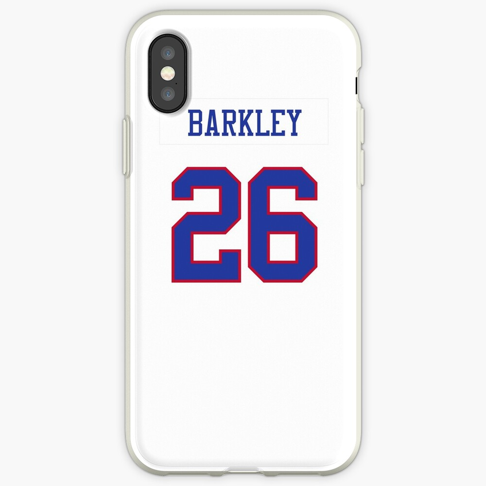 timeless design 442d7 7240e Giants Color Rush Jersey Barkley Phone Case   iPhone Case & Cover