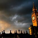 Storm Clouds over Westminster by Alastair Humphreys