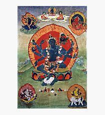 Green Tara Tibetan Buddhist Religious Art Photographic Print