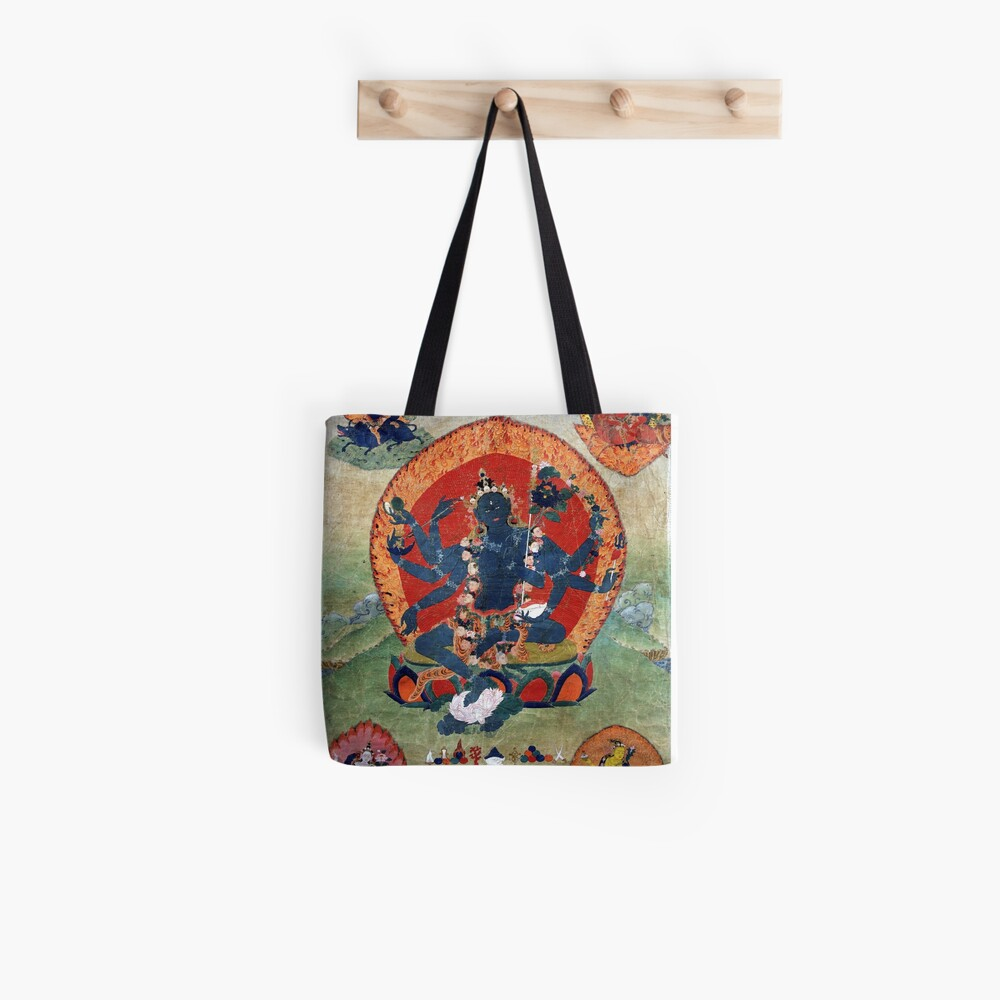Green Tara Tibetan Buddhist Religious Art Tote Bag